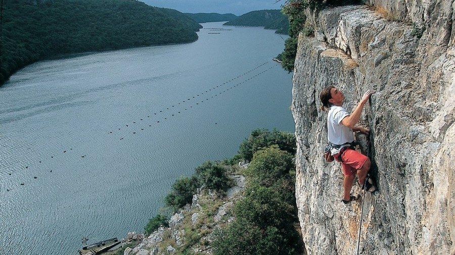 Limiski Kanal Klettergebiet Kroatien2