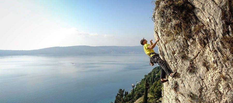 Marjan Klettern Kroatien Split
