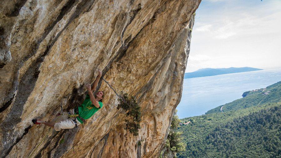 Medveja klettern kroatien 2