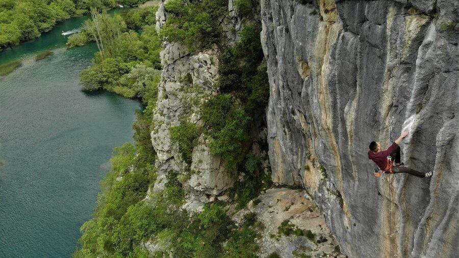 Omiš Klettern Kroatien1