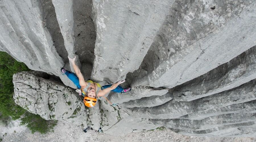 Paklenica Klettergebiet Kroatien