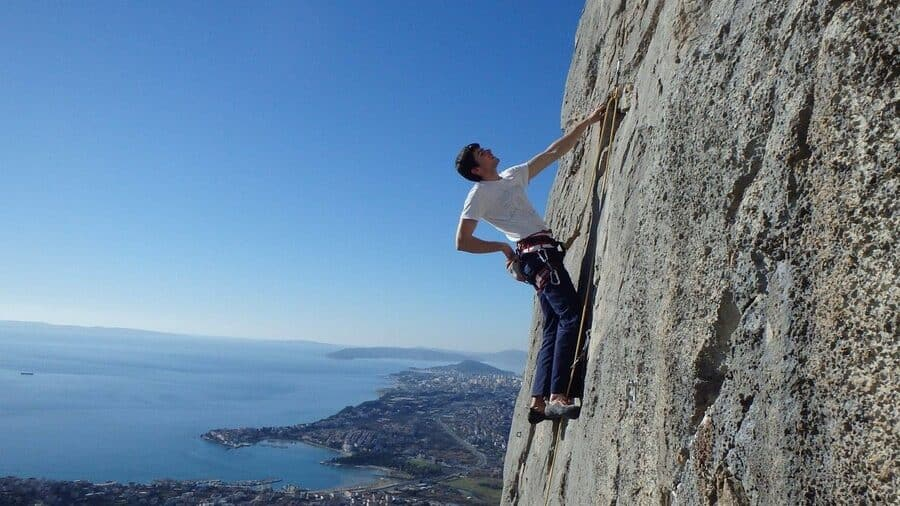 Perun Klettergebiet Kroatien