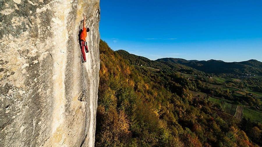 Pokojec Klettern Kroatien2