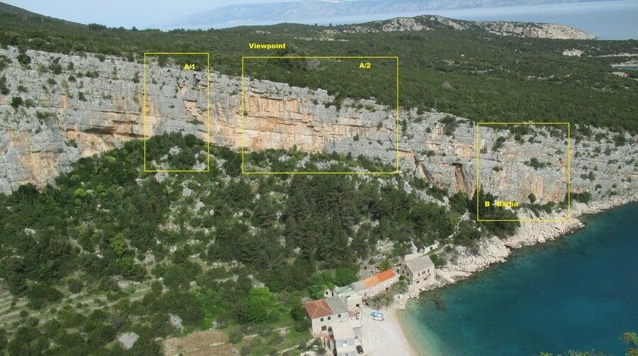 Pokrivenik Klettern Kroatien Hvar1