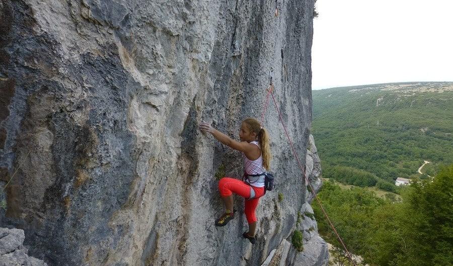 Portafortuna Klettergebiet Kroatien1