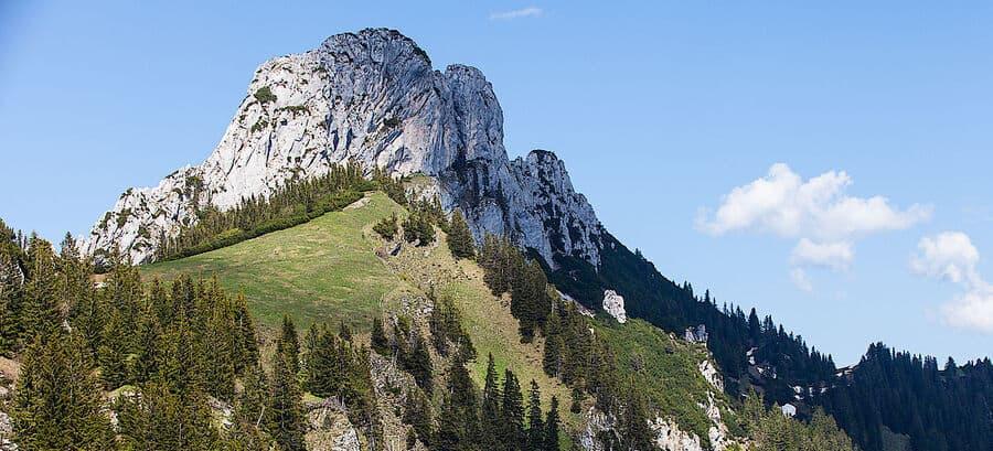 bayrische Voralpen klettern