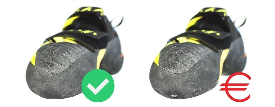 Boulderschuhe neu besohlen lassen