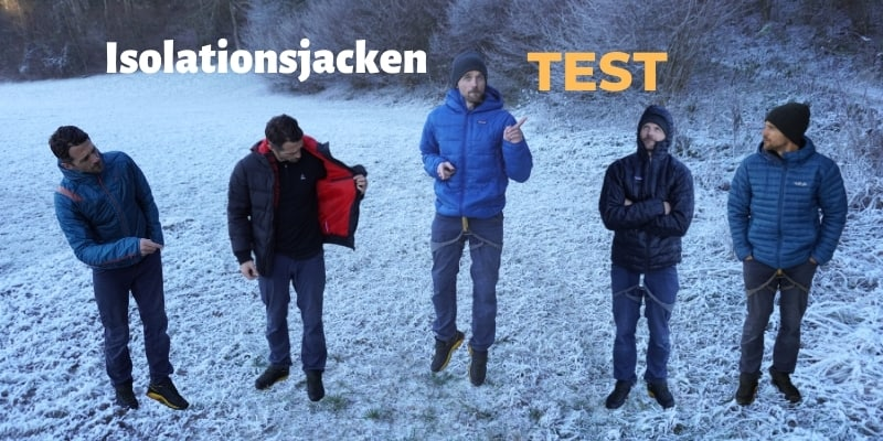 Isolationsjacken Test