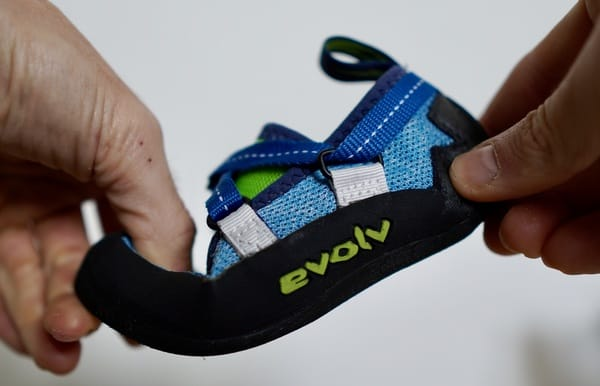 Kletterschuhe Kinder Test Evolv1