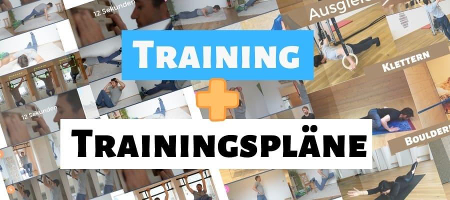 Klettern Training Trainingsplan