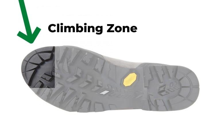 Climbing Zone Schuhe Klettersteig