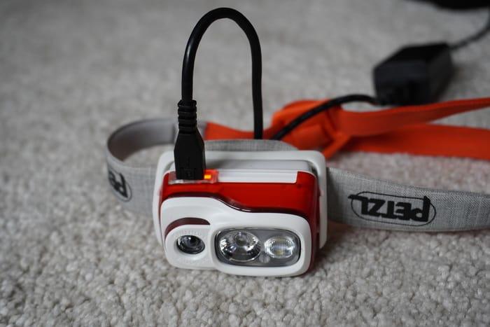 Stirnlampe Test Petzl Swift1