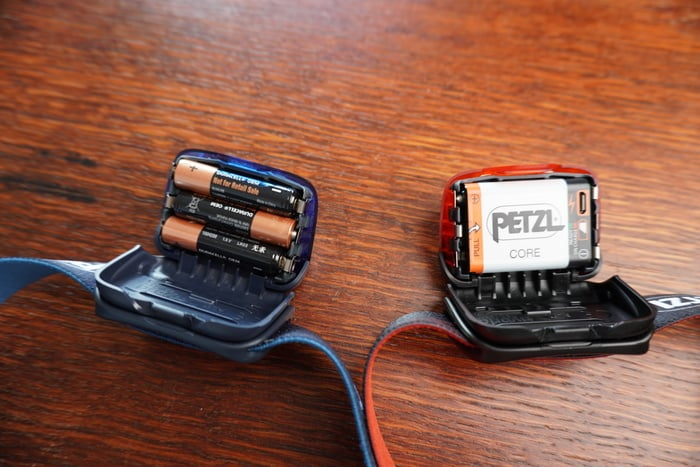 Stirnlampe Petzl Actik Core Im Test3