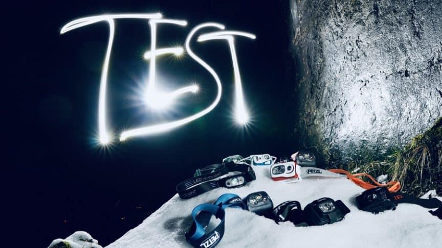 Stirnlampen Test