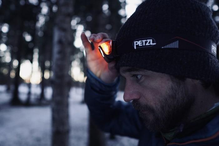 Stirnlampe Petzl Actik Core Im Test