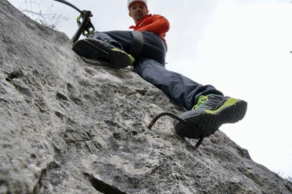 Schuhe für den Klettersteig Salewa