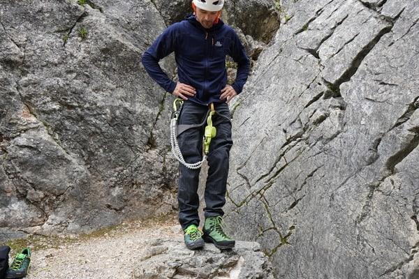 Schuhe Klettersteig Größe