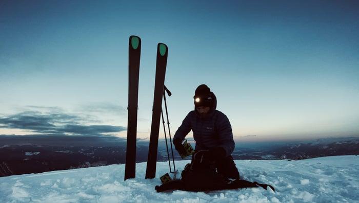 Stirlampen Test Skitour