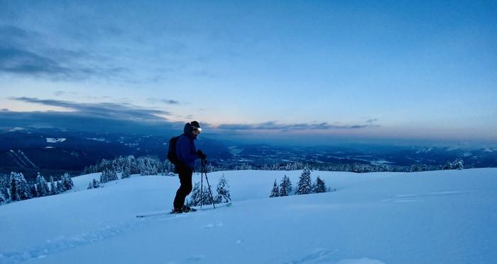 Stirnlampe Skitour petzl