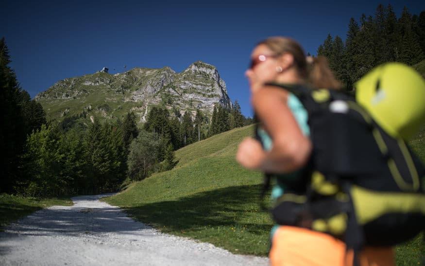 Klettersteig Zustieg Schuhe