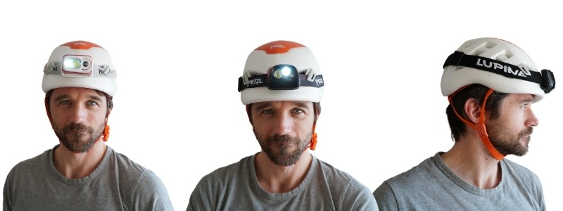 Stirnlampen Helm Test