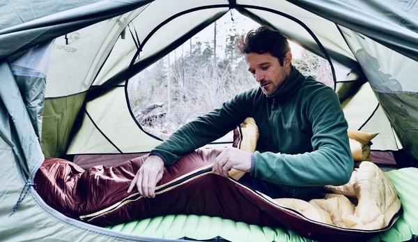 Kunstfaser Schlafsack leicht