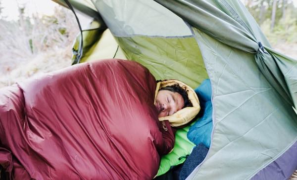 Kunstfaser Schlafsack leicht2