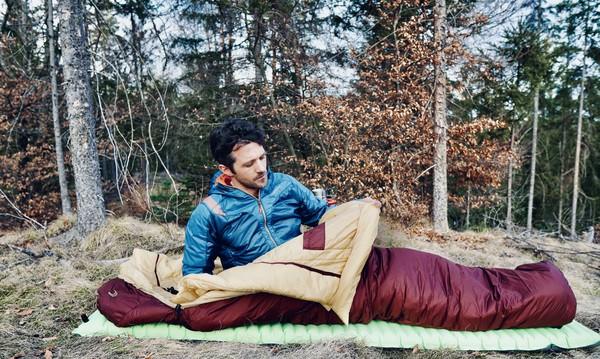 Kunstfaser Schlafsack leicht1