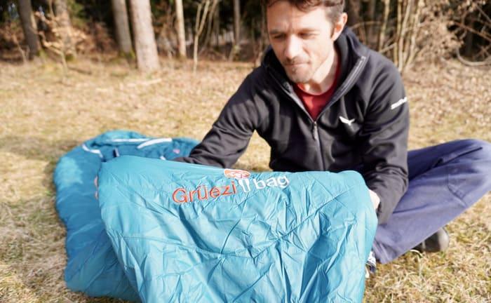 Grüezi bag schlafsack test8