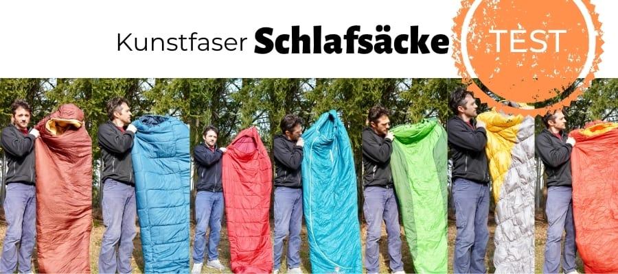 Kunstfaser-Schlafsack-TEST
