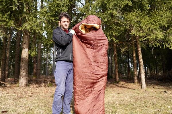 Kunstfaser-schlafsack test carinthia