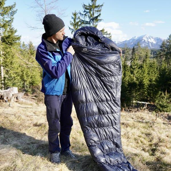 Bester Schlafsack Test Mountain Equipment