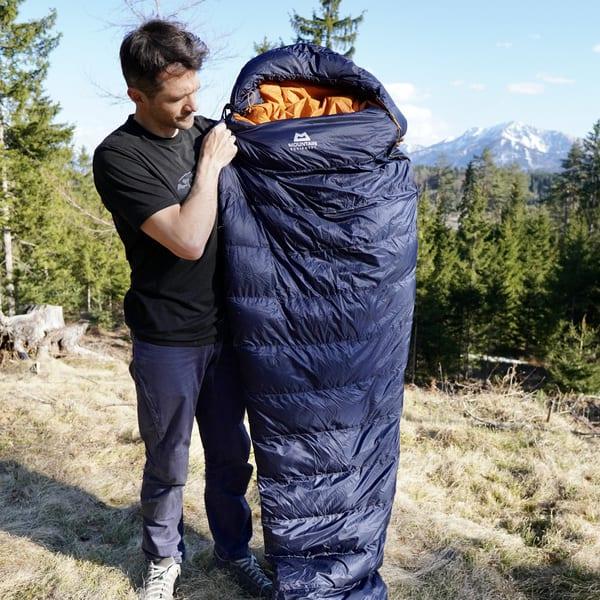Bester Schlafsack Test Helium250