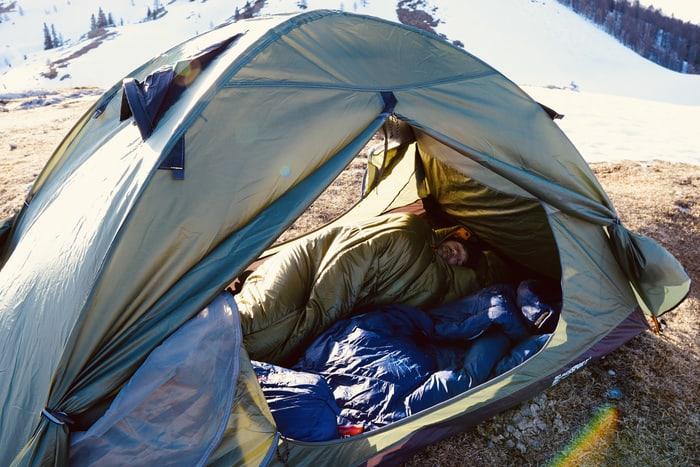 Drei Jahreszeiten Schlafsack kunstfaser mammut2