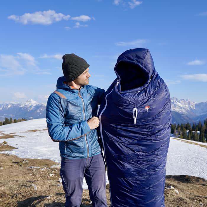 3 Jahreszeiten Schlafsack Test Grüezi Bag