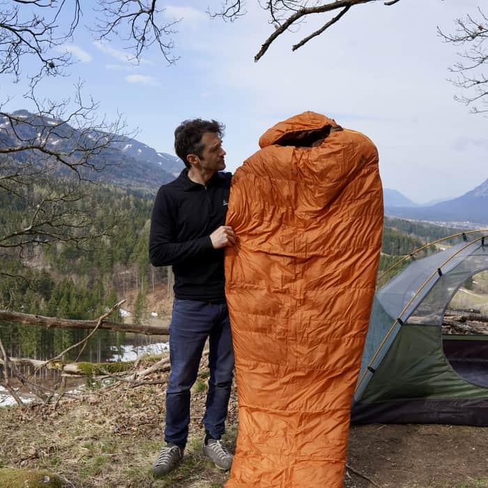 Sommerschlafsack Test Vaude