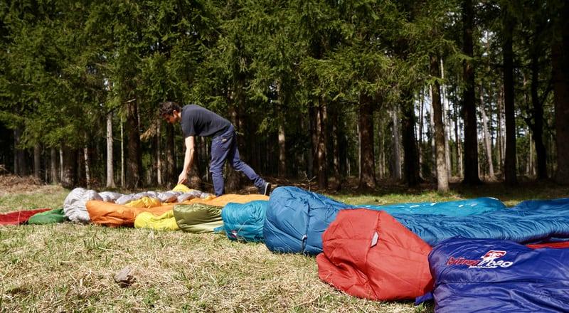 3 Jahreszeiten Schlafsäcke Features