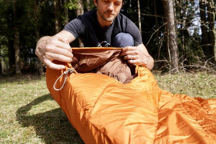 Sommerschlafsack Test Vaude marwees