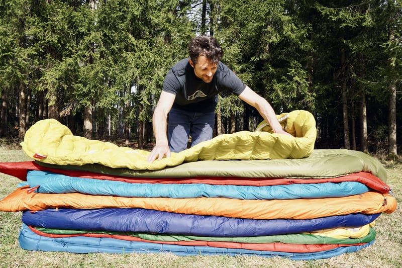 3 Jahreszeiten Schlafsäcke