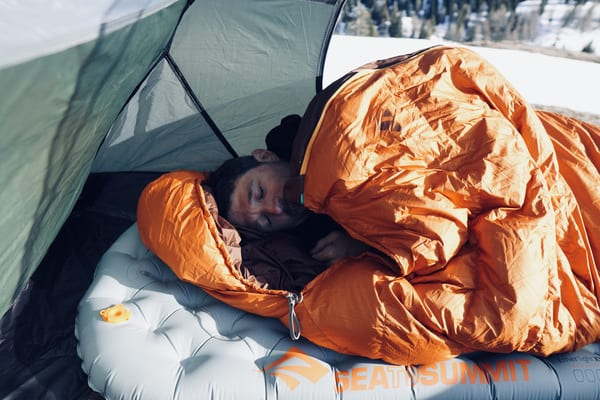 SeatoSummit Isomatte Test leicht camping