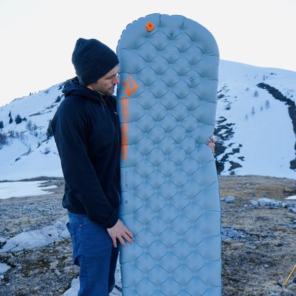 SeatoSummit Isomatte Test berg