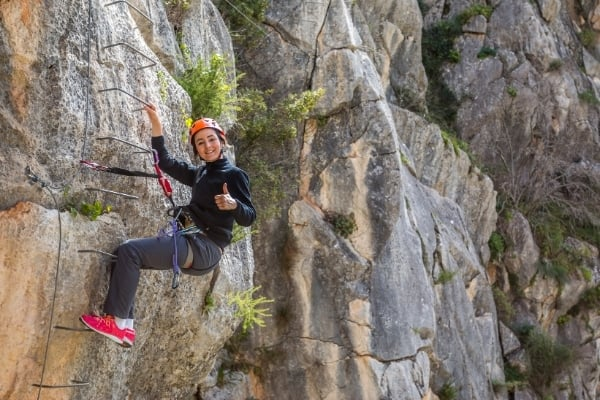 Klettersteig Tipp Rastschlinge