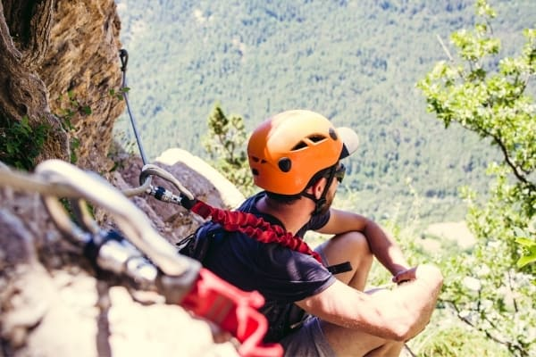 Klettersteig Tipp Trinkpause