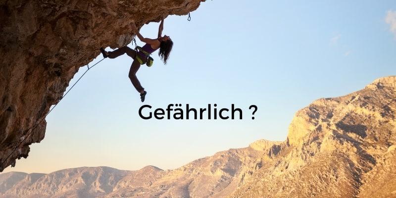 Wie gefährlich ist Klettern