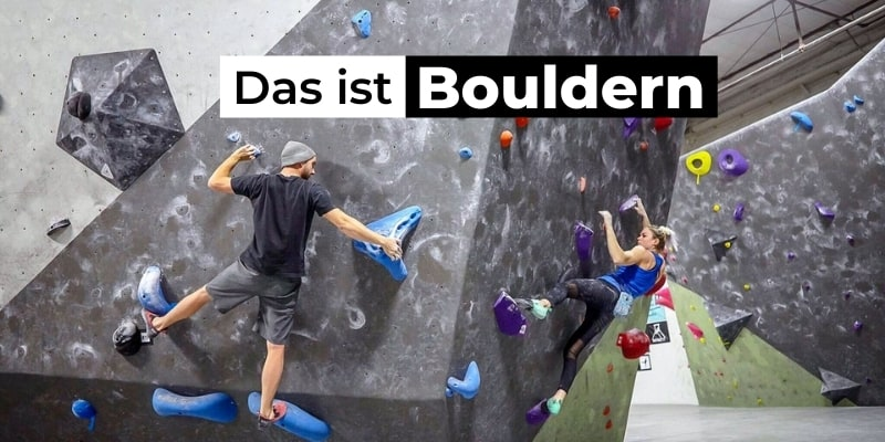 Das ist Bouldern