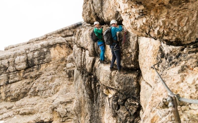 Klettersteig anfänger