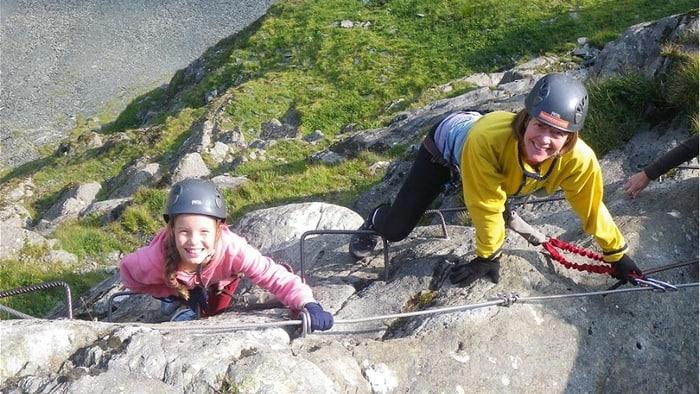 Klettersteig kinder 2