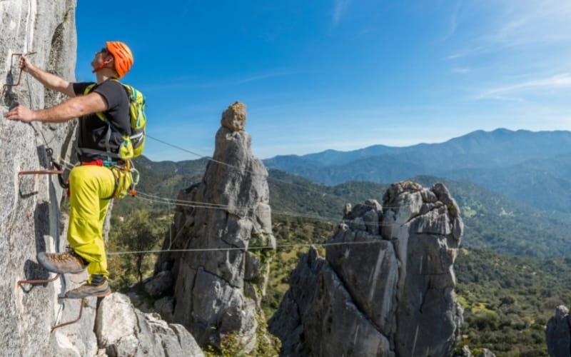 Klettersteig lernen