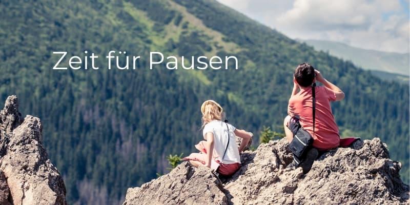 Klettersteig pause